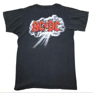 Vintage 1970s ACDC Highway To Hell Tour T Shirt S